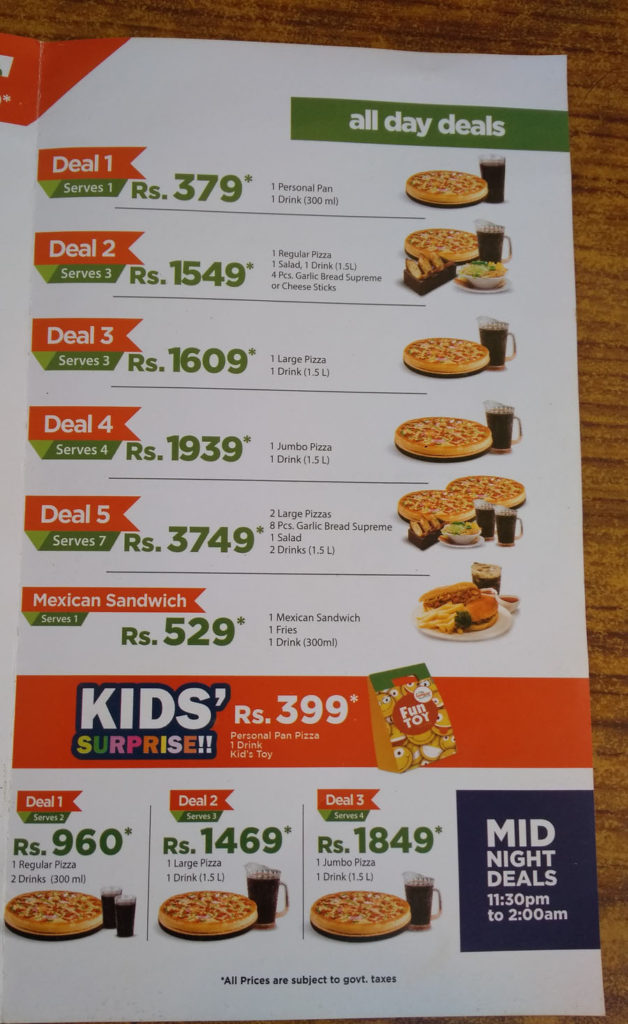 Awesome California Pizza Menu And Deals In Karachi Restaurant Menu Download Free Architecture Designs Intelgarnamadebymaigaardcom