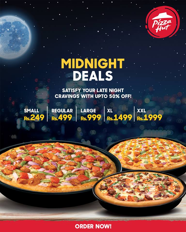 Deal With The Hutt: Top 5 Pizza Midnight Deals In Karachi